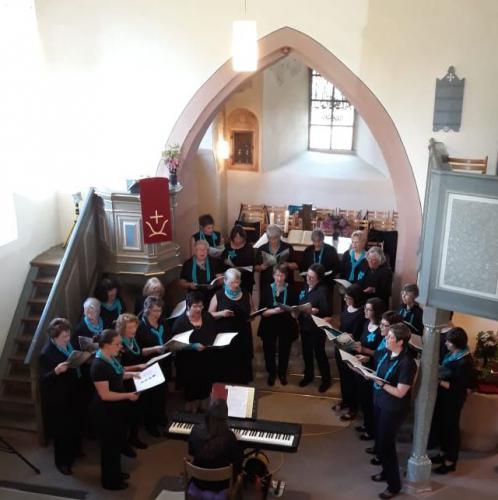 Gospel-Konzert Projektchor Frauenchor 2018_05_26 1