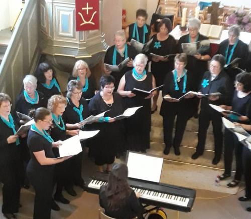 Gospel-Konzert Projektchor Frauenchor 2018_05_26, Alt und 1. Sopran