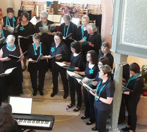 Gospel-Konzert Projektchor Frauenchor 2018_05_26, Alt und 2. Sopran